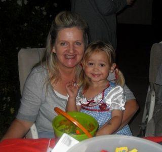 Bailey and Grandma Halloween 2010