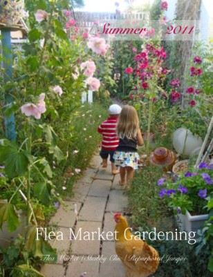 Flea market gardening mag cover