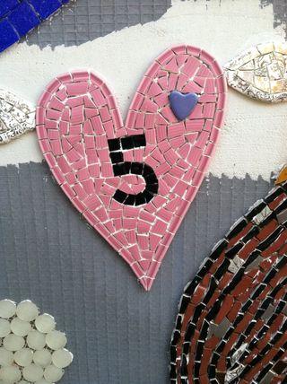 Wall 5 heart