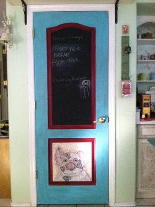 Pantry door 1